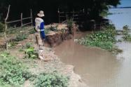 Problemática ambiental en orilla del río Magdalena
