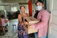 Víctimas del conflicto armando reciben Kit Alimentario