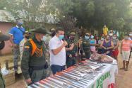 Plan desarme en El Carmen de Bolívar