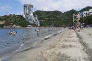 Playas del Rodadero en Santa Marta.