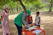 Menores hallados en riesgo de desnutrición en La Guajira