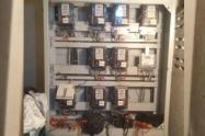 Medidores de energía manipulados
