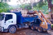 Las fuertes lluvias ha causado afectaciones por deslizamiento de sedimentos de los cerros de Santa Marta