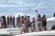Las autoridades impusieron sanciones a 10 embarcaciones que no estaban cumpliendo con las medidas de bioseguridad