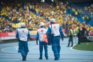 Cruz Roja en el Metropolitano