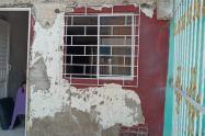 Los habitantes del barrio Ciudadela 2000 aseguran que desde que se entregó el proyecto las viviendas tenían fallas estructurales.