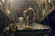 Misión estadounidense partirá en un Hércules C-130 a San Andrés y Providencia