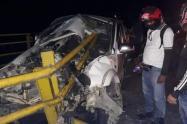 El conductor perdió el control de vehículo