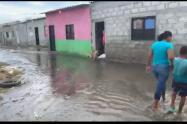 Varios barrios y  corregimientos de Puebloviejo y Ciénaga se han visto afectado