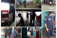 Más de 80 hogares afectados por fuerte oleaje que inundó casas en Coveñas,(Sucre)
