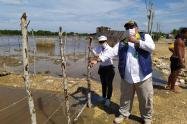 La Personería acompañó el recorrido de la Oficina Asesora para la Gestión del Riesgo de Desastres del Distrito