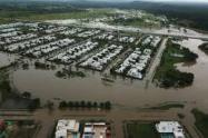 Estragos de la lluvias en Cartagena