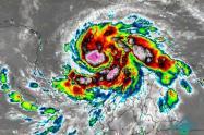 Huracán Iota en San Andrés Islas y Providencia