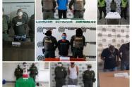 Por el delito de tráfico, fabricación, porte de sustancias estupefacientes fueron capturados 8 presuntos expendedores de sustancias alucinógenas en diferentes municipios del departamento de Sucre.