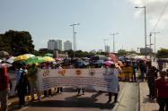 Paro de docentes en Cartagena