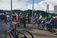 Protesta en Cartagena