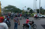 Por aumento de hurto, retoman prohibición de parrillero en motocicleta en ocho barrios de Cartagena