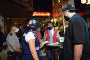 En Cartagena buscan retirar permisos de reactivación a comercios que no cumplan con las medidas