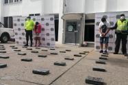 Policía Nacional en Sucre.se incauta de 70 kilos de clorhidrato de cocaína.