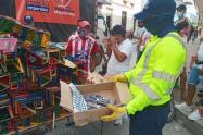 Las autoridades desarrollaron diversos controles para evitar emergencias