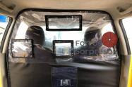 Las cabinas en los taxis ayudan a aislar a pasajeros de taxistas.