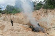 La minería ilegal estaría siendo financiada por las bacrim