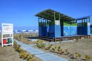 Recertificada como sostenible y biosegura Playa Azul La Boquilla en Cartagena