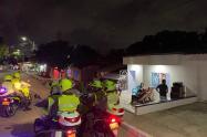 Más de 300 comparendos fueron impartidos en Barranquilla.