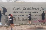 Muestras artísticas en memoria de Madelayne Ortega.