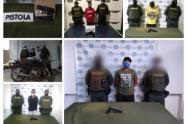 Por el delito de fabricación, tráfico, porte o tenencia de armas de fuego, accesorios, partes o municiones fueron capturadas seis personas en los municipios de Sincelejo y San Marcos