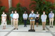Presidente Duque habla sobre la nueva ley de turismo