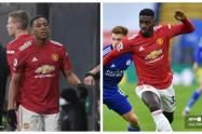 Martial y Tuanzebe, Manchester United