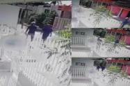 Captura de video de delincuentes que amenazaron líder de la Boquilla