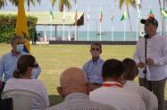 Gobernador de Sucre y presidente Duque suscriben Plan Integral para la Implementación de la Paz con Legalidad en Sucre
