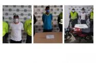 Por los delitos de violencia intrafamiliar, tentativa de homicidio y falsedad marcaria, fueron capturadas tres personas en los municipios de Ovejas, Galeras Y Buenavista en el departamento de Sucre, por parte de Unidades de la Policía Nacional.