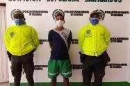 Presunto integrante del Clan del Golfo fue capturado en San Marcos ,Sucre