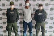 """Capturado en San Onofre  John García Agresoth o ´John Jaime', presunto sicario  de la subestructura """"Manuel José Gaitán"""" del grupo armado organizado Clan del Golfo."""