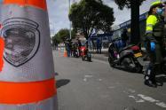 Operativo de Transito en Bogotá