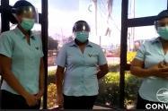 Trabajadoras de la Concesión Vial denuncian agresiones por protestantes