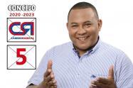 Fue concejal de Chiriguaná Cesar, en el periodo 2012- 2015