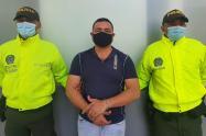 Victor Candado fue capturado por la Policía.