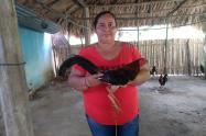 La nueva propietaria de cuerda de gallos vive en Sabanananueva(San Pelayo)