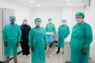 Trabajadores de la salud están listos para la vacunación en Bolívar