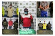 En operativos Policía Nacional en Sucre, captura a varias personas por  posesión de drogas