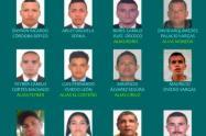 En total son 12 los que busca la Policía en el Sur de Bolívar