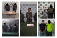 En Sucre fueron capturadas  cinco personas presuntamente dedicadas al tráfico de estupefacientes