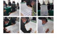 En un acto protocolario Policía Nacional en Sucre firma el 'Compromiso por la vida'