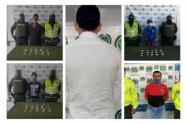 Por los delitos de fabricación, tráfico, porte de estupefacientes, y actos sexuales con menor de catorce años fueron capturadas cinco personas en Sincelejo y Corozal