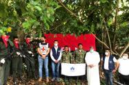 La alcaldía de El Banco y comunidad organiza recibimiento del soldado liberado por el ELN