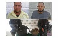 Dos sujetos fueron capturados con material de guerra en zona rural de San Onofre, Sucre.